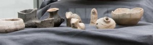 Bogács_ásatás-állatfigurák